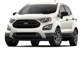 2019 Ford EcoSport SUV White Platinum Metallic Tri Coat